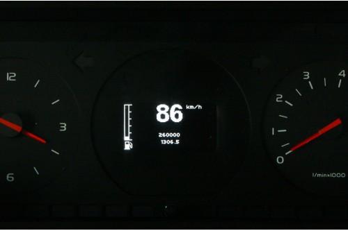 Volvo 740 Yazaki Digital Hastighetsmätare med tankmätare
